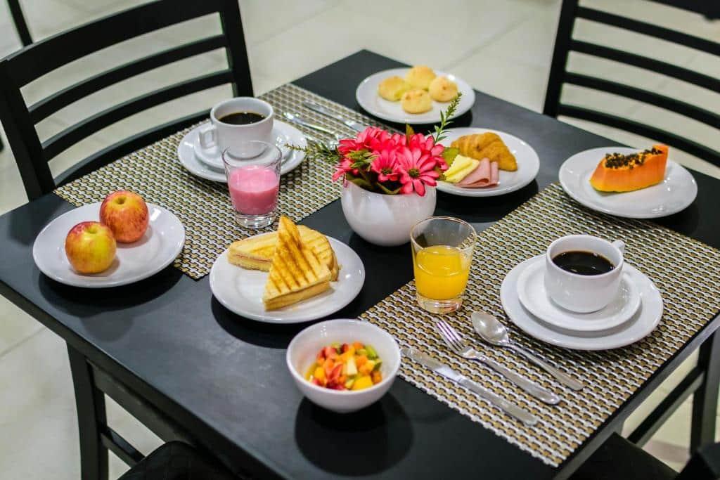 café da manhã no national inn