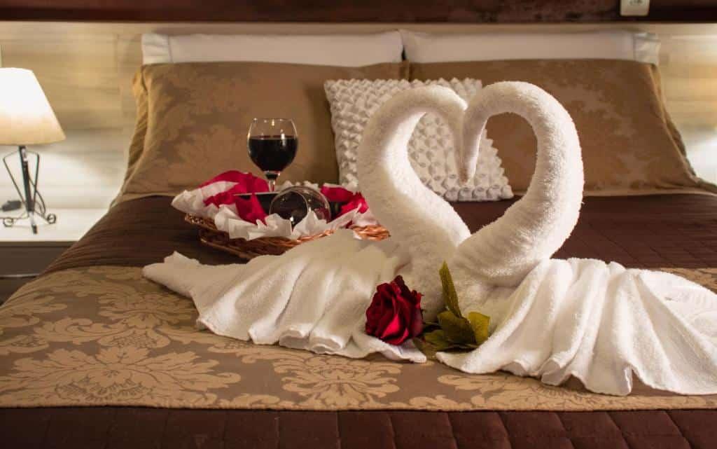 cama da Pousada Serra Geral