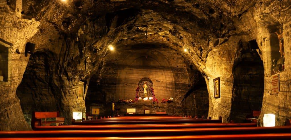 catedral de sal nos pontos turisticos em Bogotá