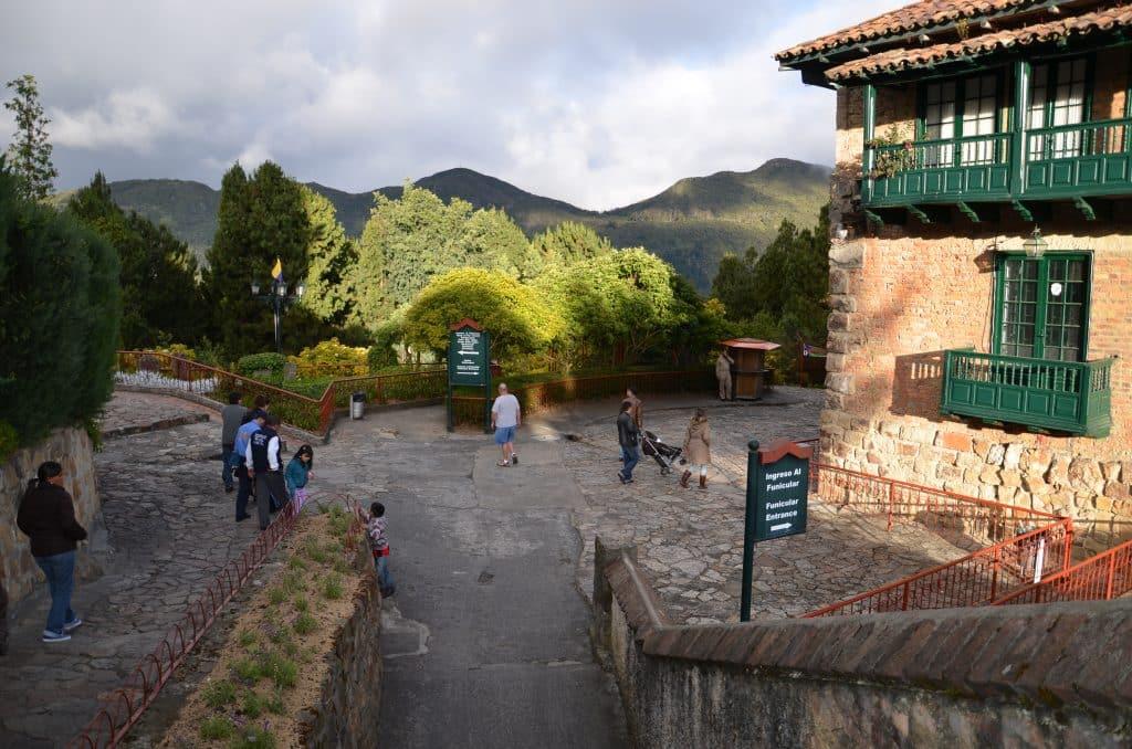 cerro monserrate nos pontos turisticos em bogota