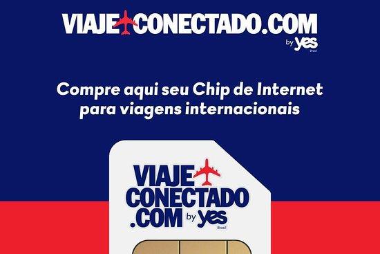 como comprar os chips de internet da viaje conectado