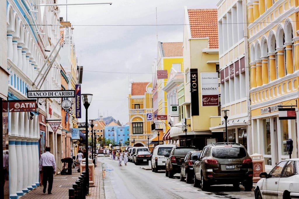 Centrinho de Willemstad, ilustrando post Quando ir para Curaçao