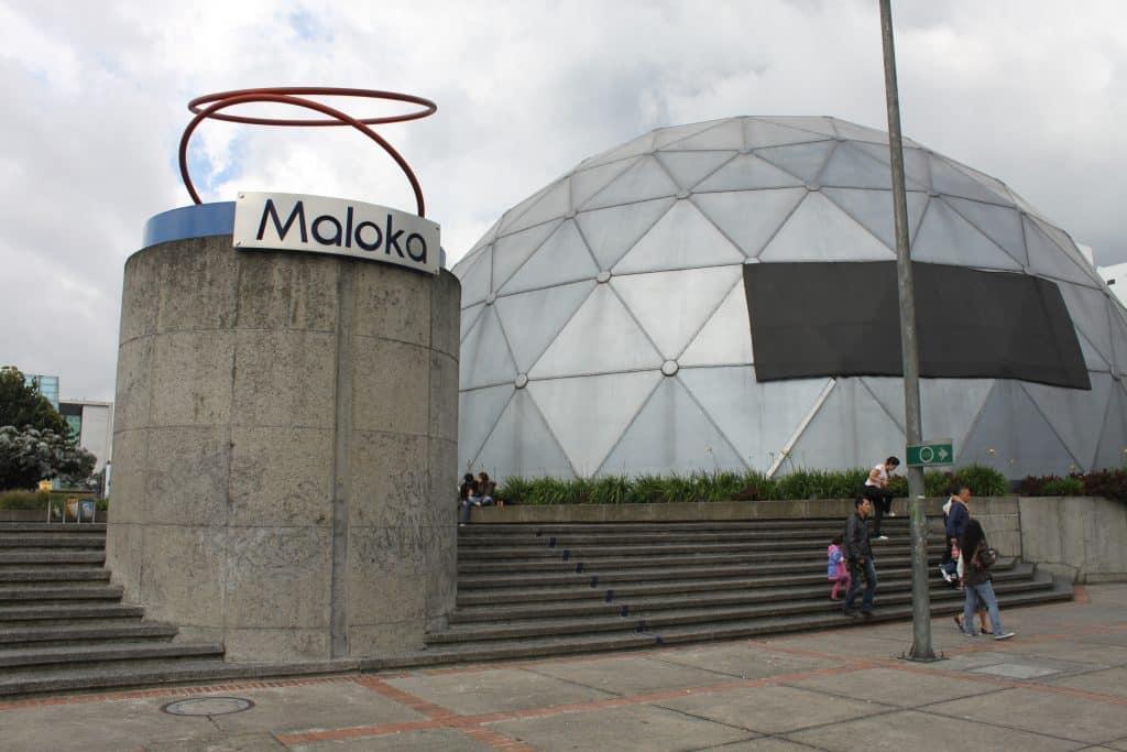 museu maloka nos pontos turisticos em bogotá