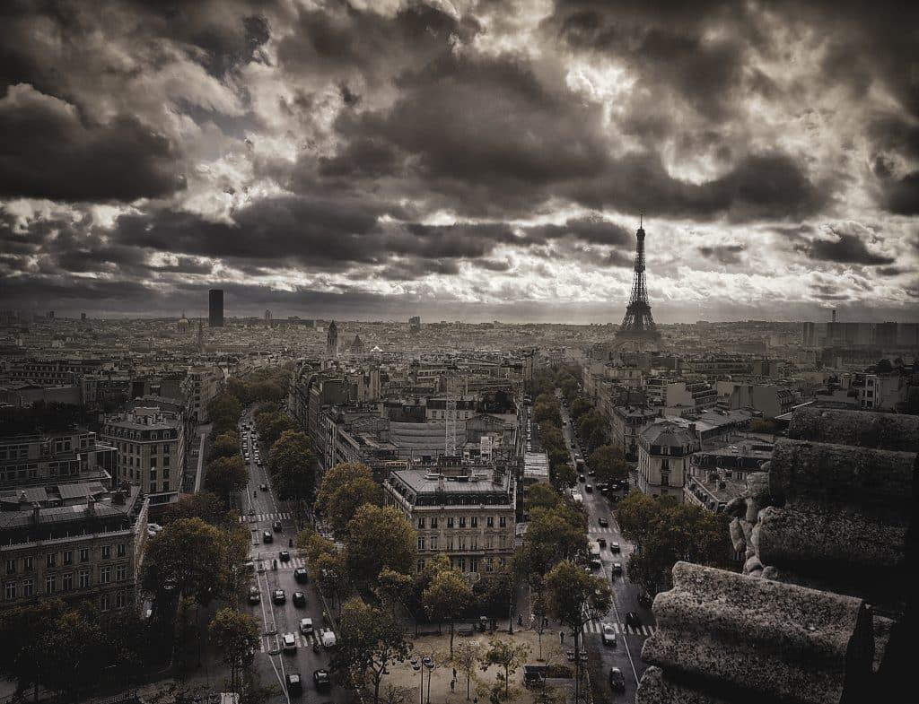 Vista aérea da Cidade Luz
