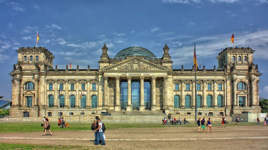 roteiro em berlim no parlamento alemão