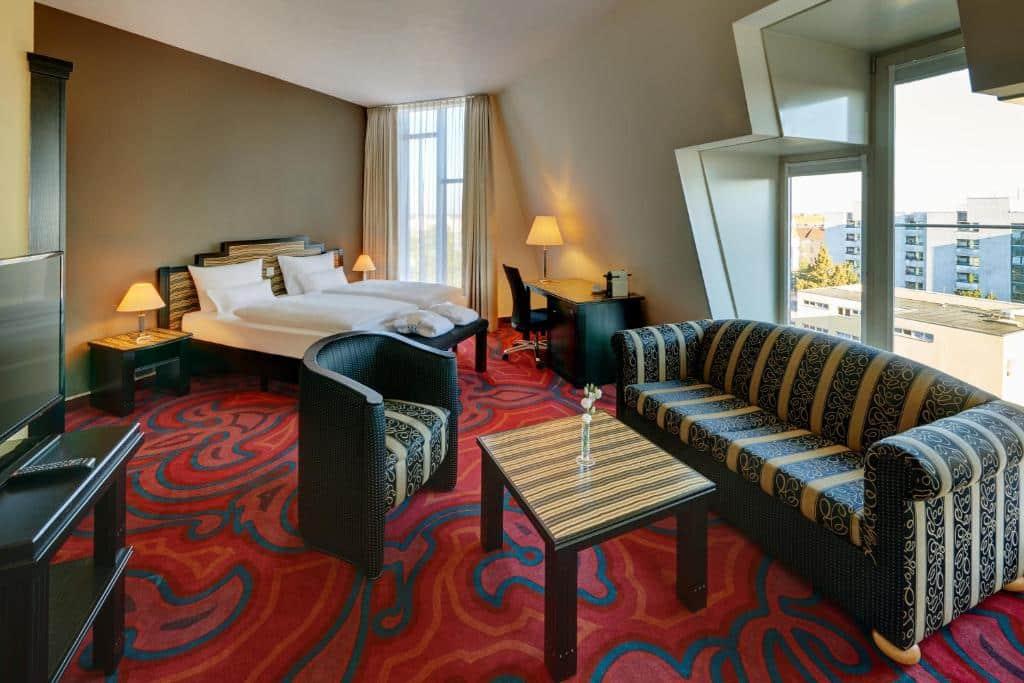 quarto do Mercure Hotel Berlin Tempelhof