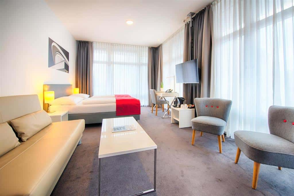 quarto do Select Hotel Berlin Gendarmenmarkt