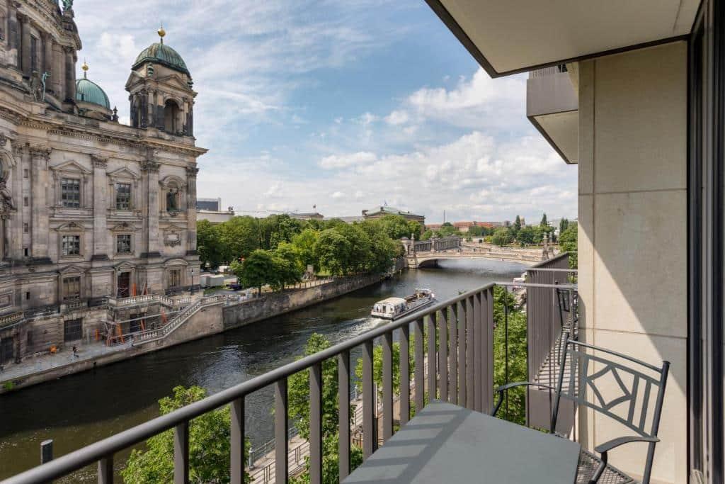 vista do Radisson Blu Hotel, Berlin