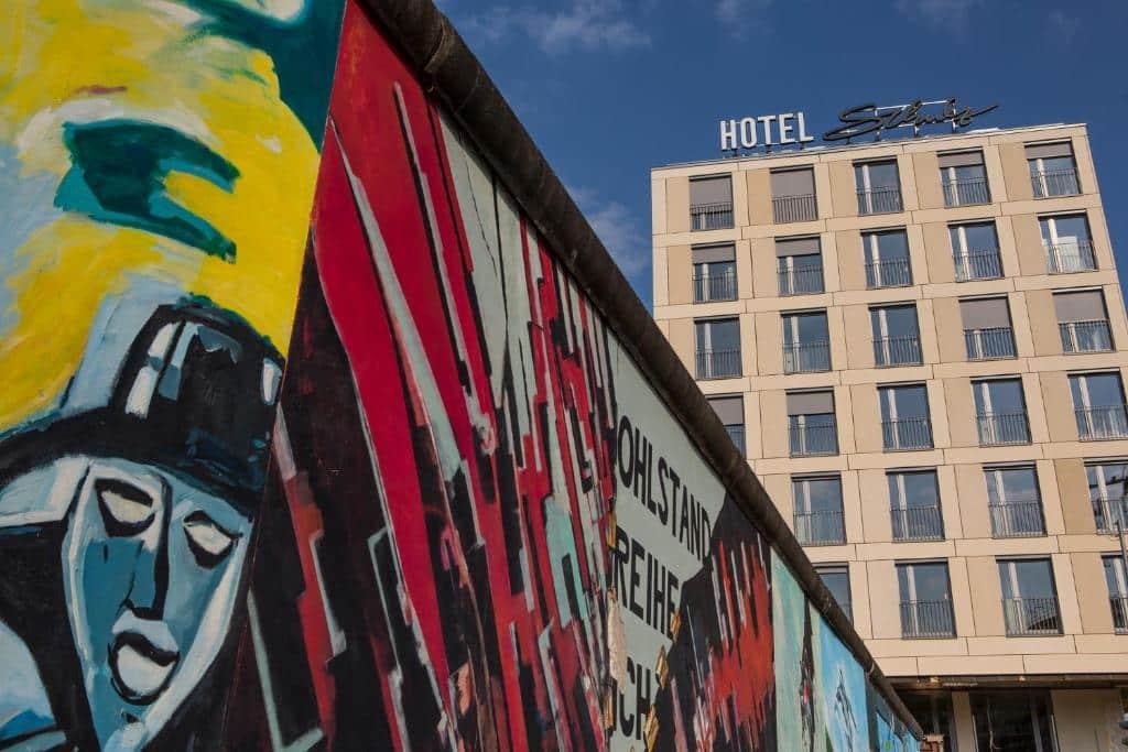 onde ficar em Berlim no Schulz Hotel Berlin Wall at the East Side Gallery