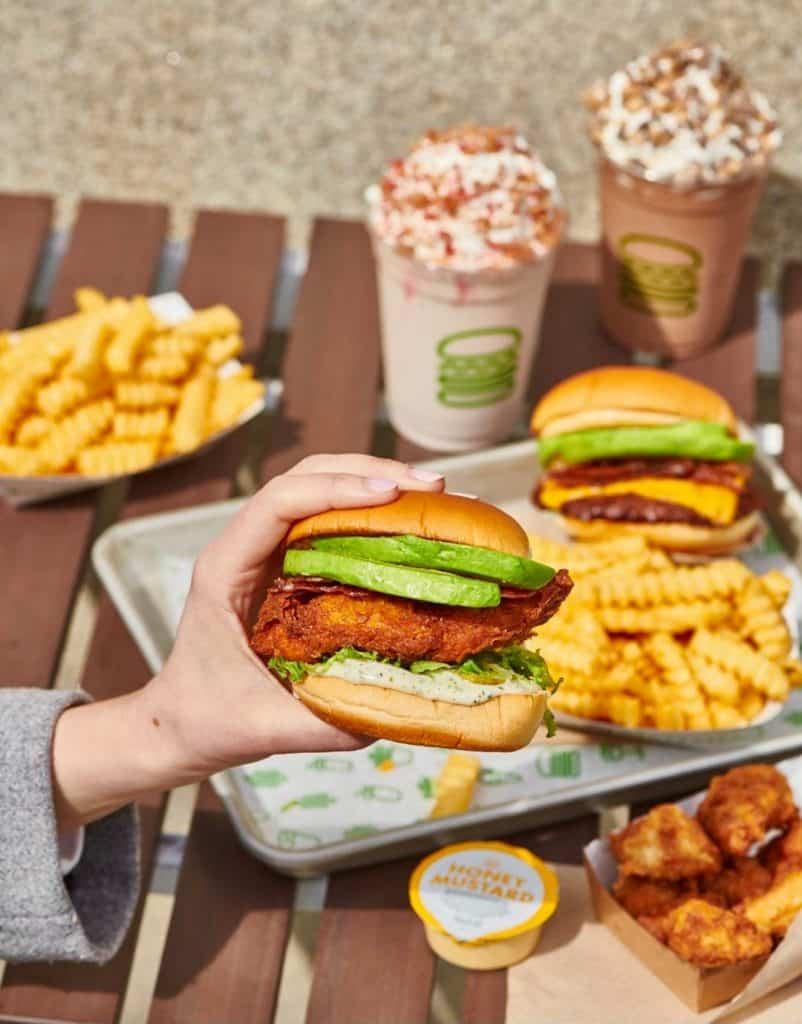 restaurante shake shack em orlando