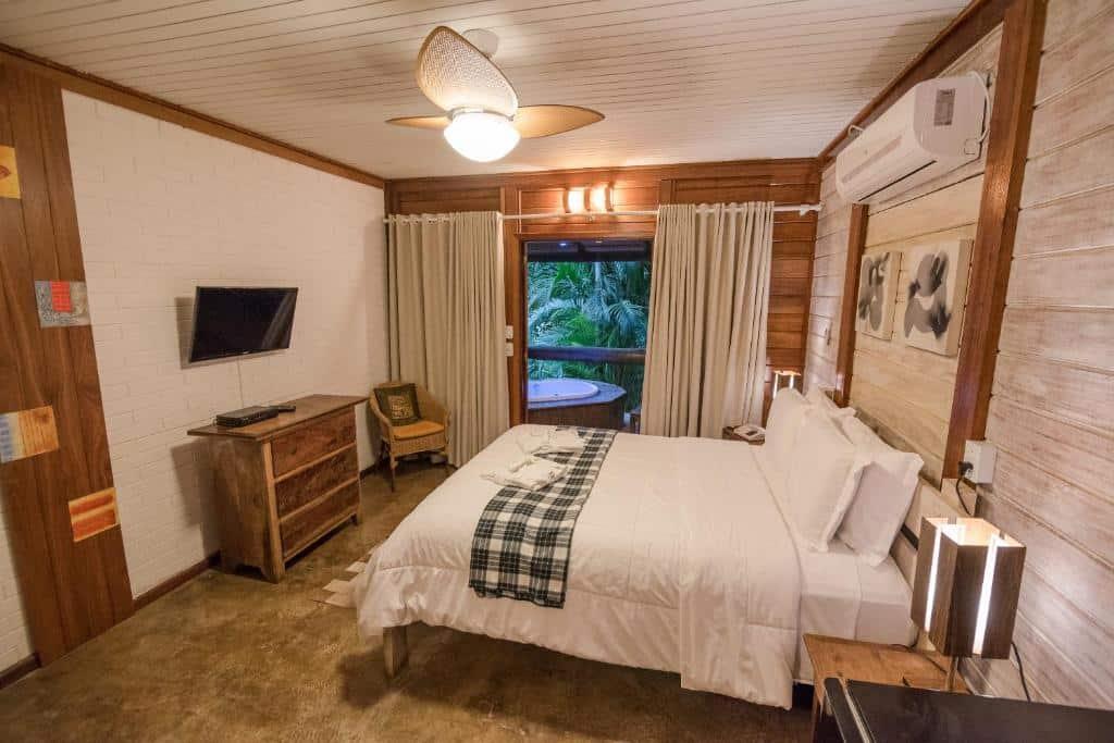 Um dos hotéis no interior de SP para casal