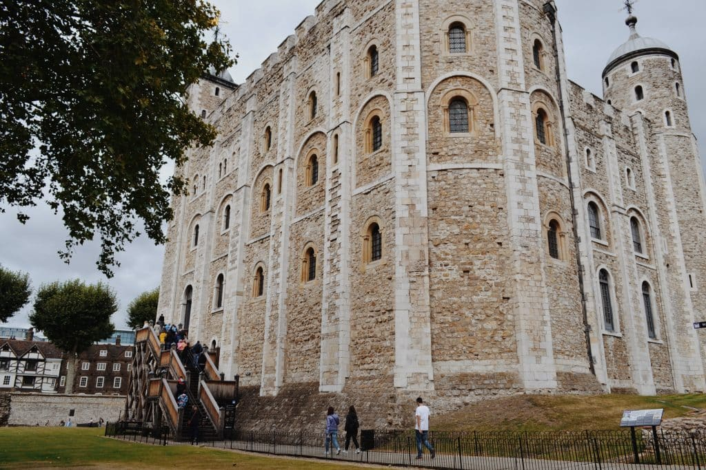 A White Tower da Torre de Londres