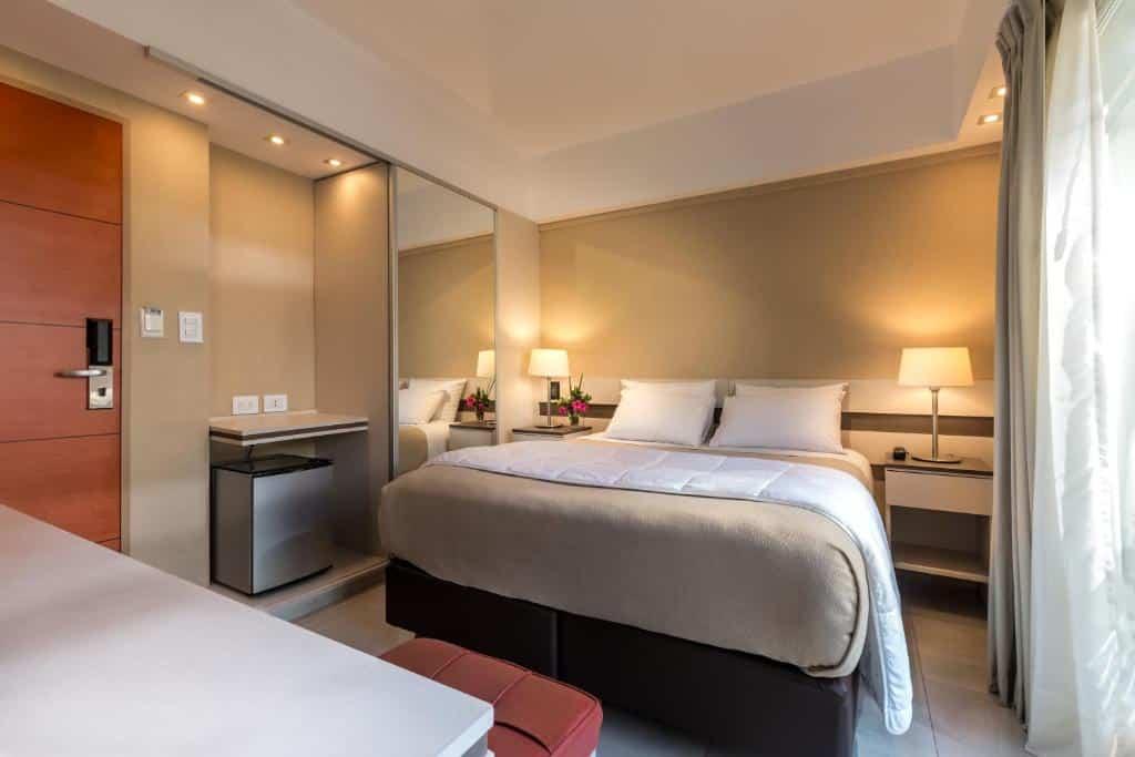 quarto do Up Recoleta Hotel