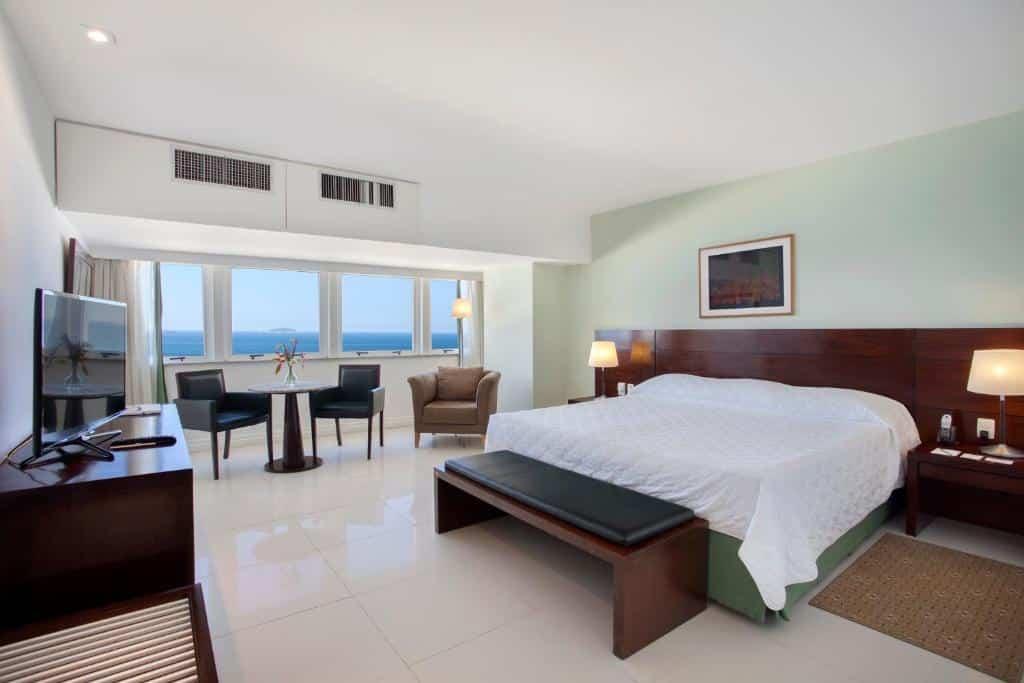 Um dos lugares onde ficar em Copacabana