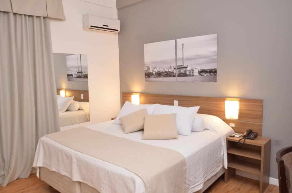 suíte do Açores Premium um dos hoteis em porto alegre