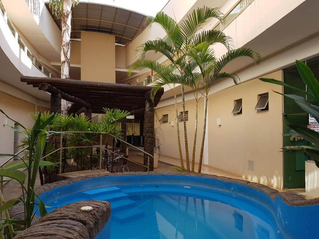 piscina do Água Viva Hotel