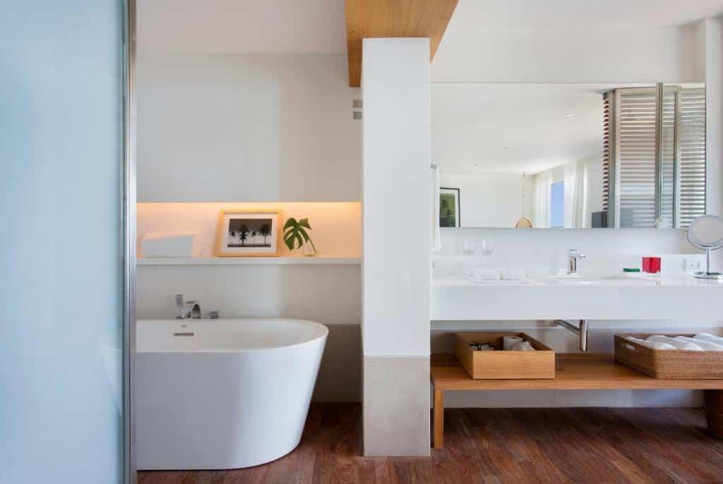 banheiro do JANEIRO Hotel