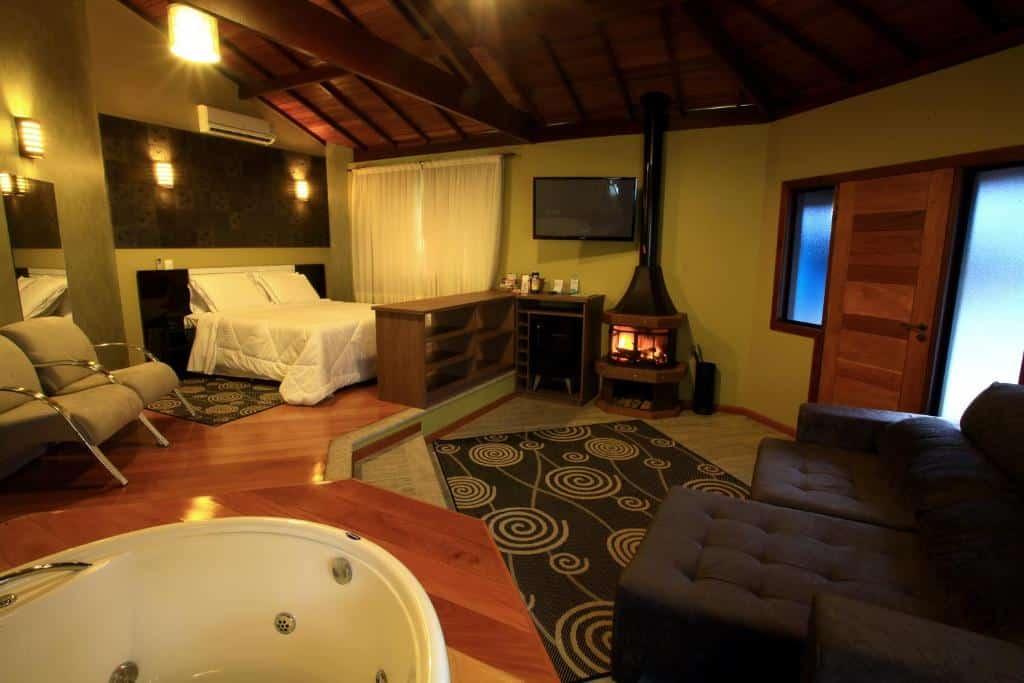 chalé do Eco Resort Serra Imperial