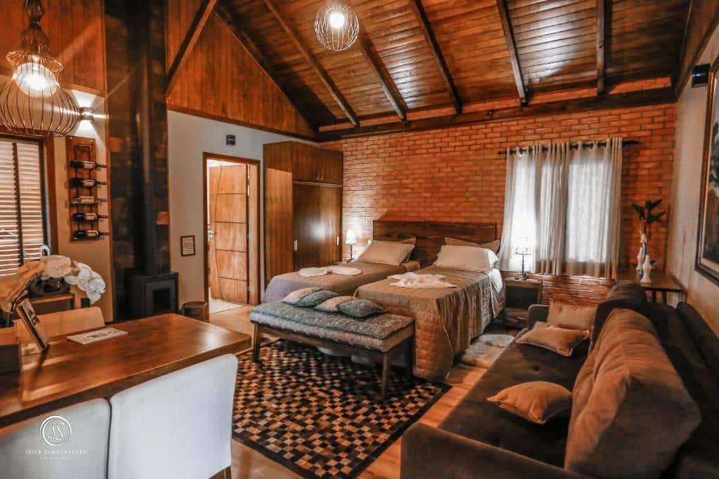 Um dos hotéis fazenda em Santa Catarina