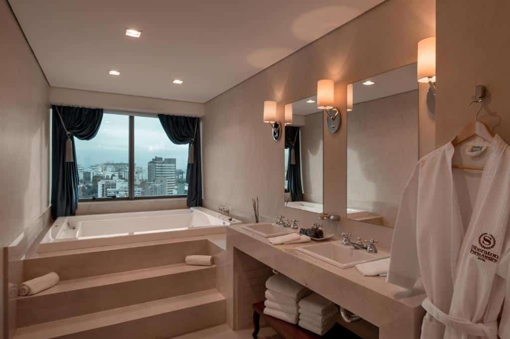 banheiro do Sheraton