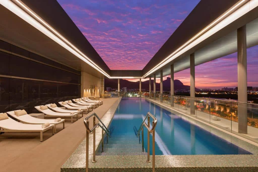 hotel Hilton Barra Rio de Janeiro na barra da tijuca