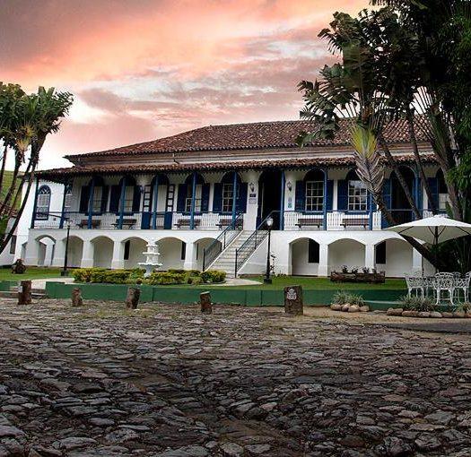 Fachada do Hotel Fazenda Villa-Forte, no Rio de Janeiro