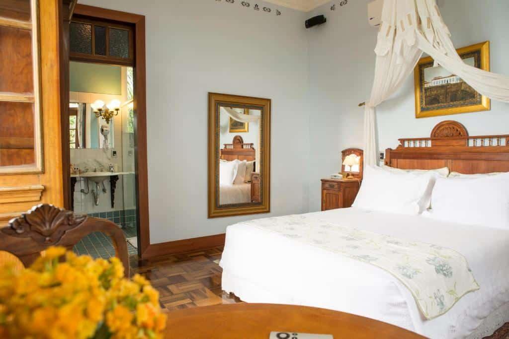 Um dos hotéis em Florianópolis