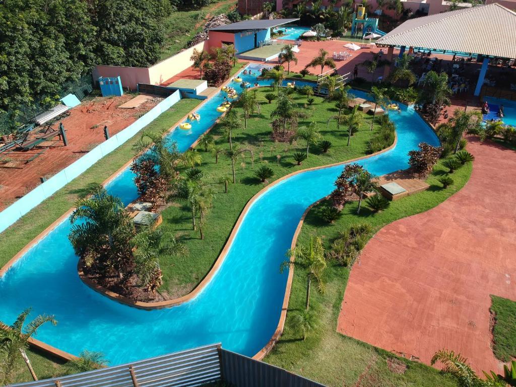 piscina do Hotel Dolce Dulce em Olímpia