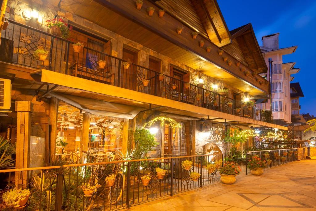 Hotel Giardino Di Pietra na serra gaúcha