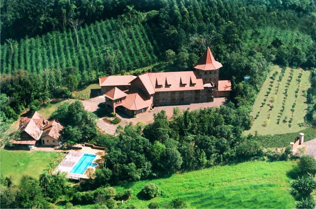 Um dos hotéis fazenda no Rio Grande do Sul