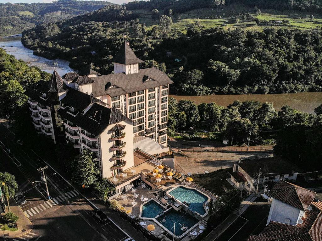 Hotel Vila Germânica em Piratuba
