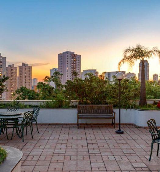 Vista de Guarulhos em um dos hotéis mais próximos do Aeroporto