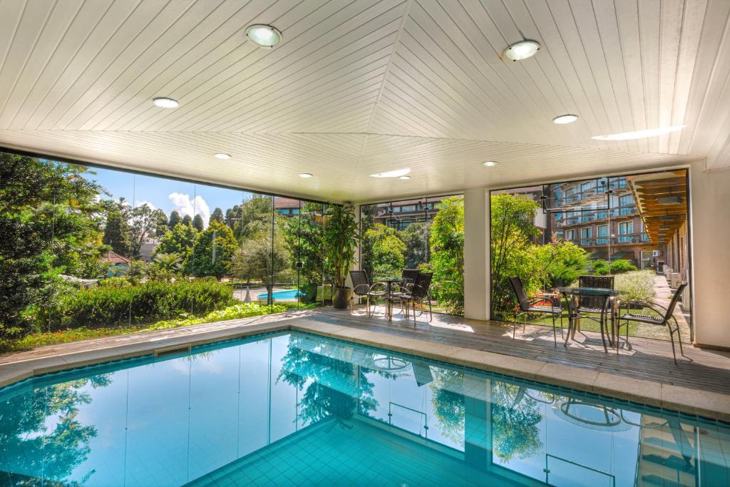piscina do hotel alpestre