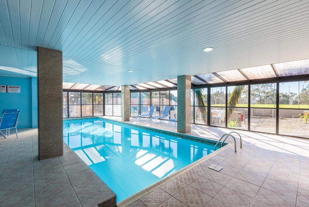 piscina do hotel letto na serra gaúcha