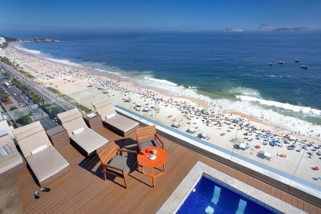 piscina do Sol Ipanema Hotel