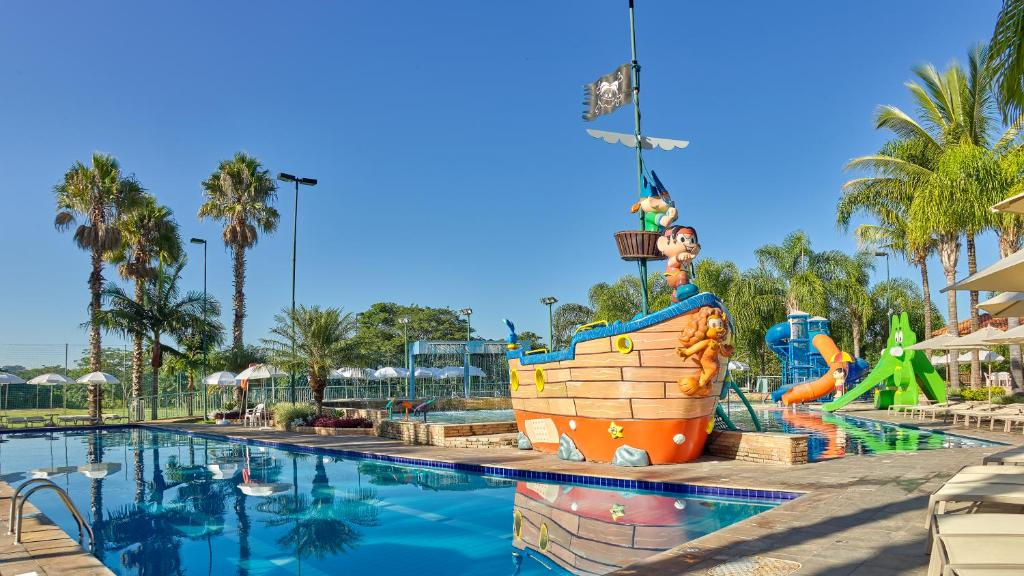 piscina do Bourbon Resort em são paulo
