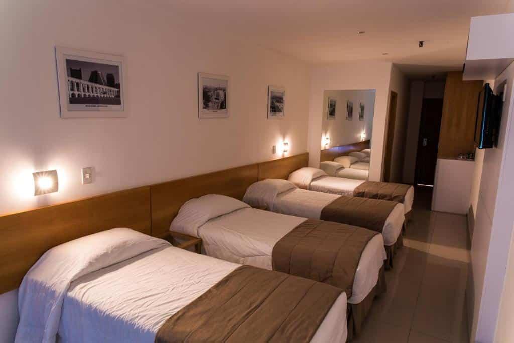 quarto do Atlantis Copacabana Hotel
