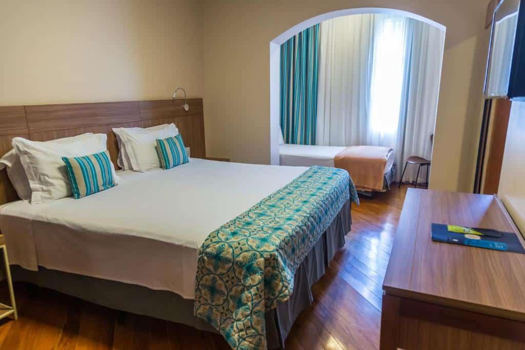quarto do Grand Resort Serra Negra