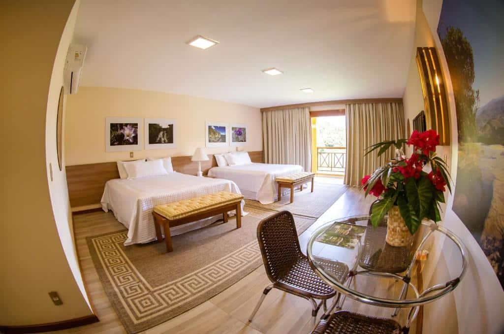 quarto do Haras Morena Resort