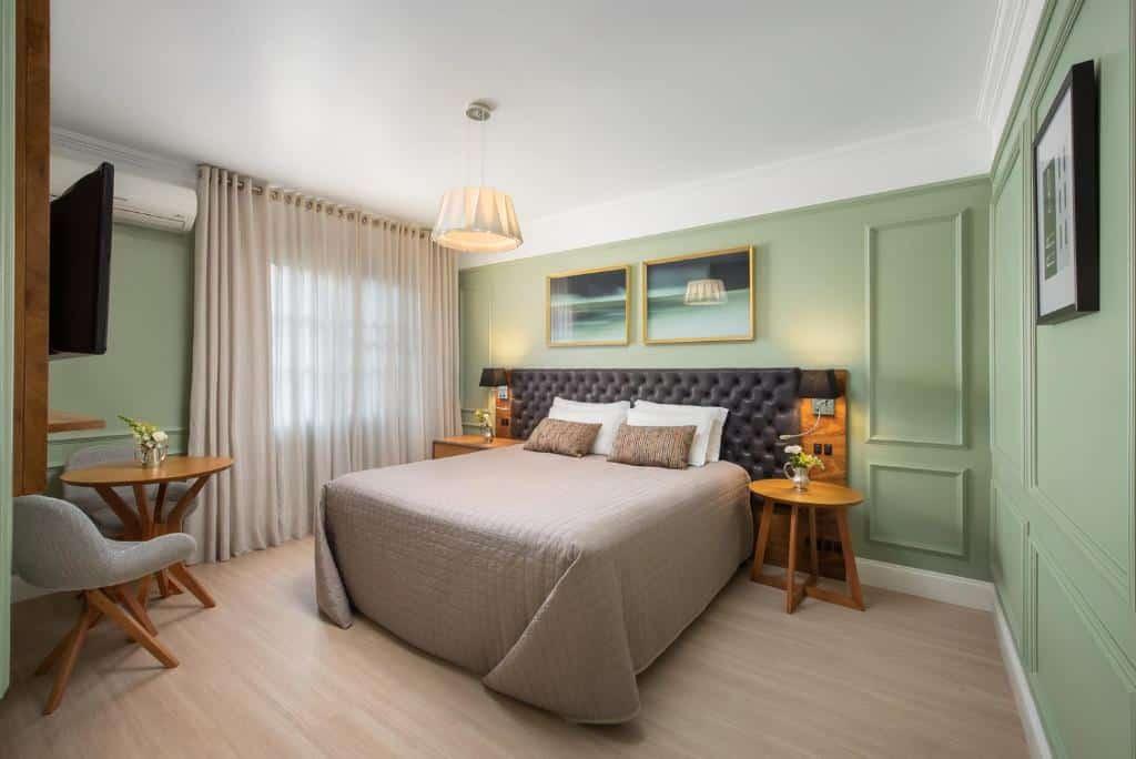 quarto do hotel casacurta