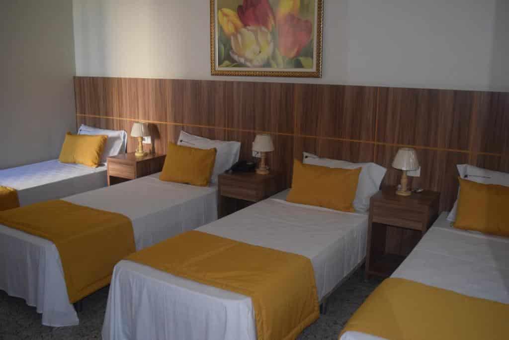 quarto do Hotel Diplomata Copacabana