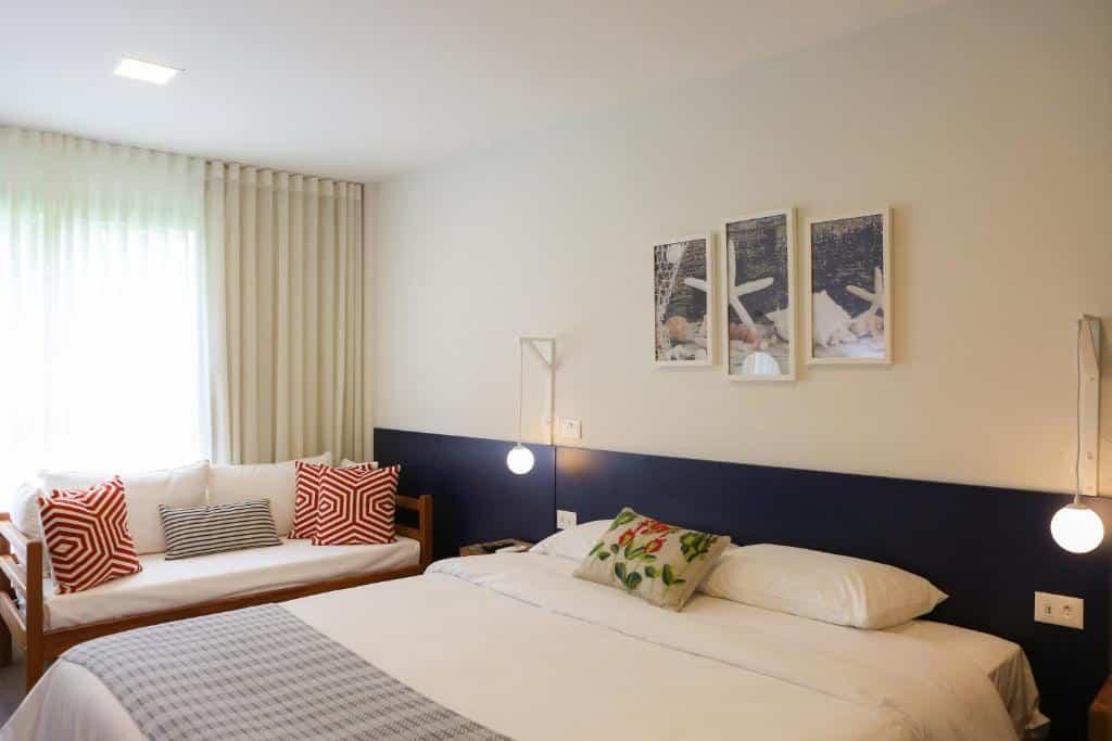 quarto do Hotel do Bosque ECO Resort
