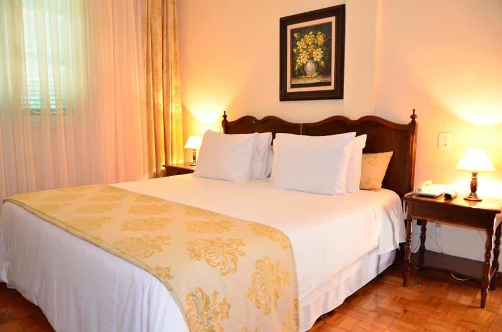 quarto do Hotel Glória Resort & Convention