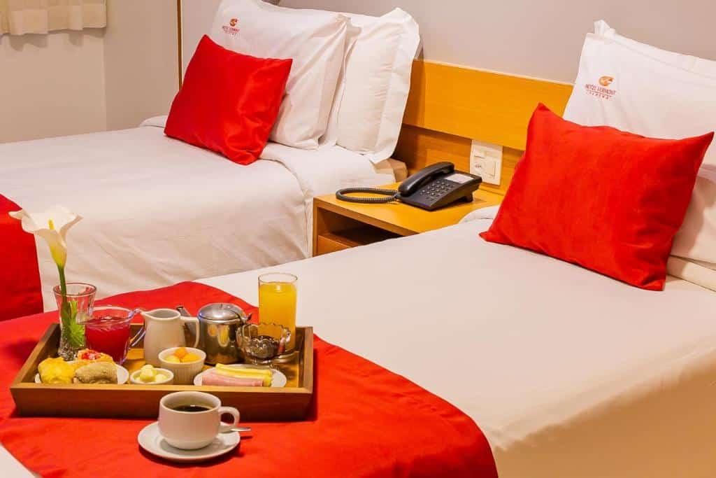 quarto do Hotel Vermont Ipanema