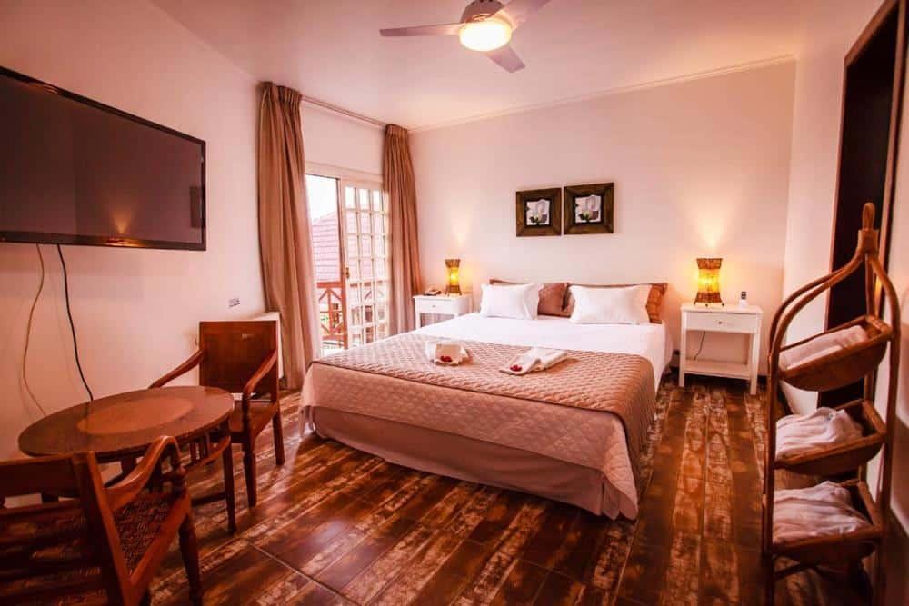 quarto do Hotel Village da Serra