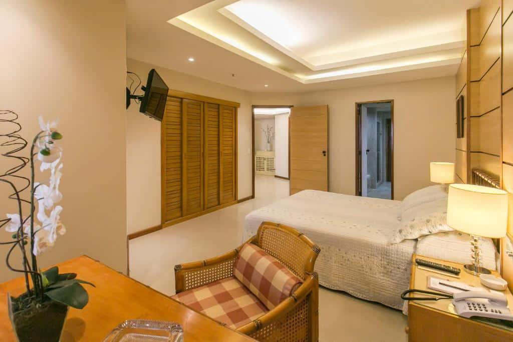 quarto do Mirador Rio Copacabana Hotel
