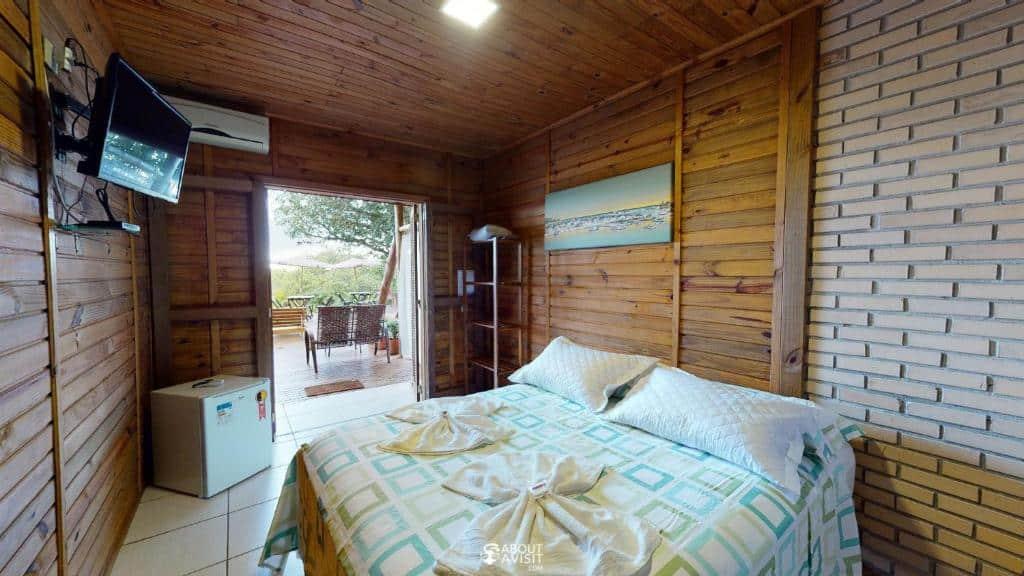 quarto da Pousada Villa Verde