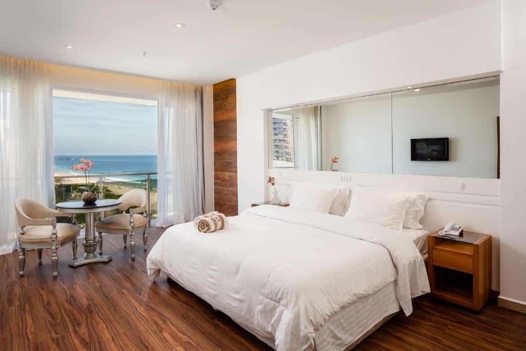 quarto do Praia Ipanema Hotel