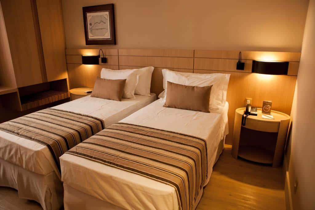 quarto do Ritz Copacabana Boutique Hotel