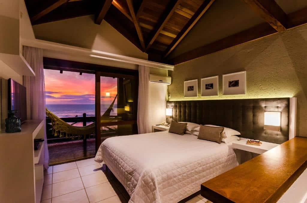 suíte do Solar Mirador Exclusive Resort e SPA